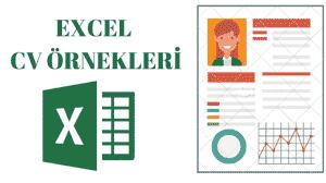 Cv Hazırlama Formu Excel